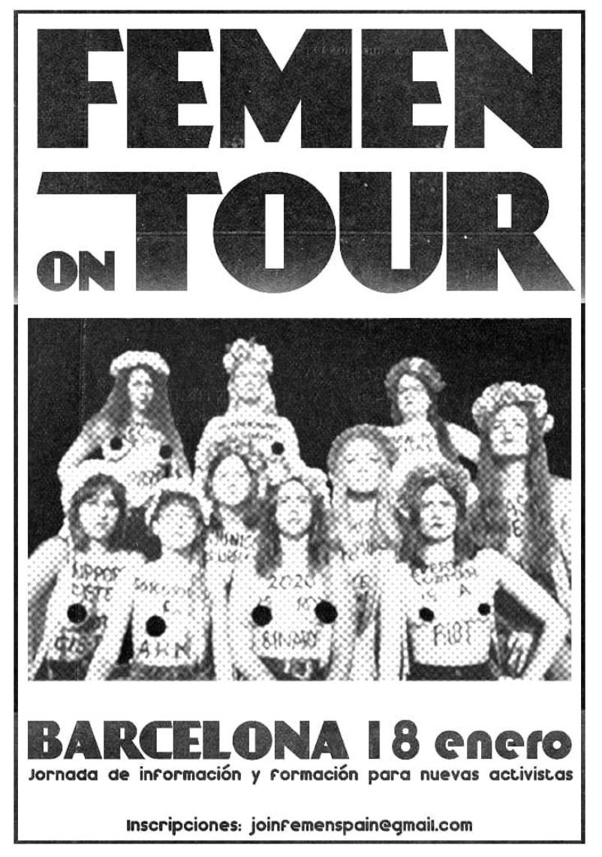 FEMEN Tour Ep. 1 – Barcelona.