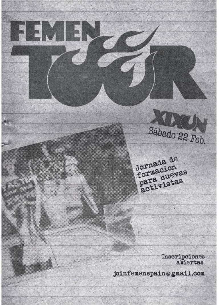 FEMEN Tour Ep. 2 – Gijón.