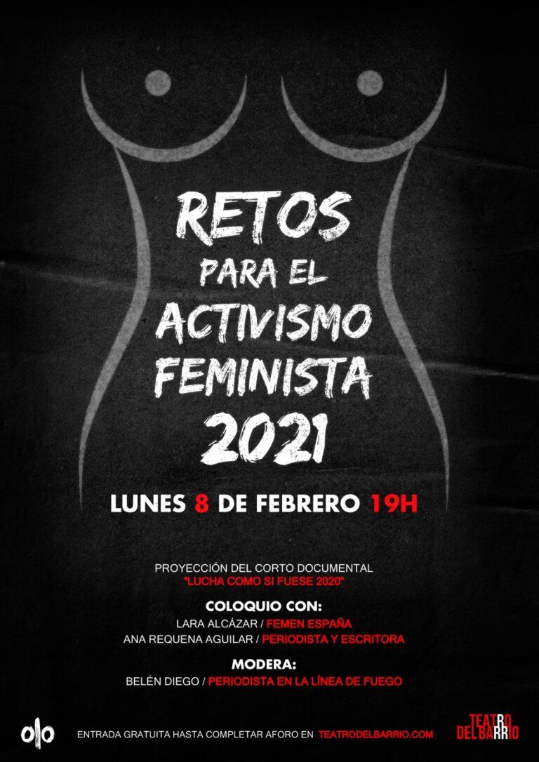 Retos para el activismo feminista – FEMEN Spain en el Teatro del Barrio.