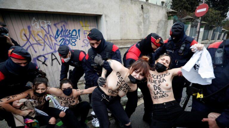 Fascismo fuera de las urnas / Feixisme fora de les urnes.